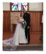 Wedded Fleece Blanket
