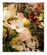 Wedding Bouquets 01 Fleece Blanket