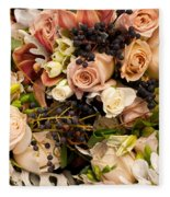 Wedding Bouquets 02 Fleece Blanket