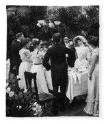 Wedding Party, 1904 Fleece Blanket