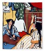 Wee Sma Hours 1909 Fleece Blanket
