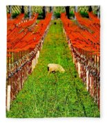 Weed Control Fleece Blanket