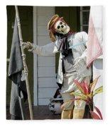 Welcome To Key West Neighbor Fleece Blanket