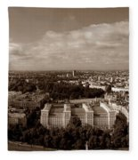 Welcome To London Fleece Blanket