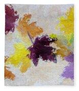 Welcoming Autumn Fleece Blanket