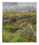 Well Of The Dead Fleece Blanket