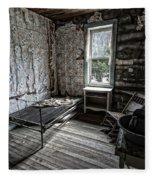 Wells Hotel Room 2 - Garnet Ghost Town - Montana Fleece Blanket