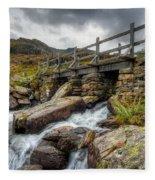 Welsh Bridge Fleece Blanket