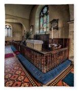 Welsh Chapel Fleece Blanket