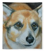 Welsh Corgi Fleece Blanket