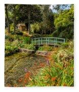 Welsh Garden Fleece Blanket