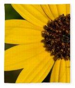 West Coast Dune Sunflower Fleece Blanket