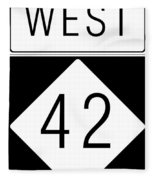 West Nc 42 Fleece Blanket