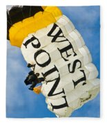 West Point Sky Diver Fleece Blanket