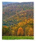 West Virginia High Fleece Blanket