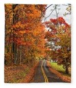 West Virginia Wandering Fleece Blanket