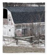 Western New York Farm 1 Fleece Blanket
