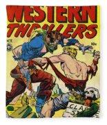 Western Thrillers Fleece Blanket