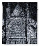 Westminster Abbey North Transept Fleece Blanket