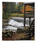 Weston Grist Mill Fleece Blanket