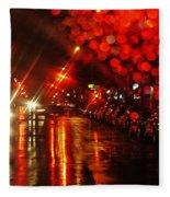 Wet City 2 Fleece Blanket