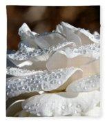 Wet Diamonds Fleece Blanket