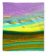 Wet Paint 1 Fleece Blanket