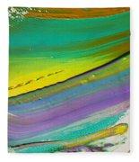 Wet Paint 6 Fleece Blanket