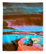 Wet Paint 73 Fleece Blanket