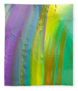 Wet Paint 8 Fleece Blanket