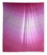 Wet Pink Fleece Blanket