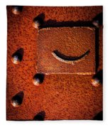 Wet Rivets Number Nine Fleece Blanket