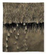 Wetland Sky Fleece Blanket