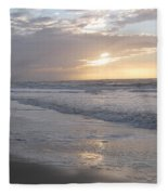 Whale In The Clouds Fleece Blanket