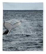 Whale Of A Time Fleece Blanket