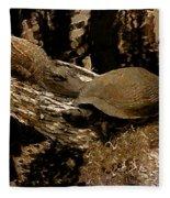What A Crock - Featured In Wildlife Group Fleece Blanket