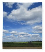 What A Frontporch View Fleece Blanket