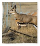 What Fence Fleece Blanket
