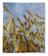 Wheat Standing Tall Fleece Blanket