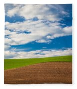 Wheat Wave Fleece Blanket