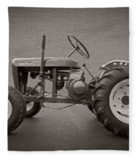 Wheel Horse Vintage Fleece Blanket