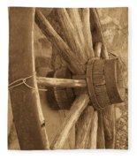 Wheel Of Time II Fleece Blanket