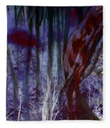 When Darkness Beckons Fleece Blanket
