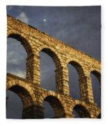 When In Segovia Fleece Blanket