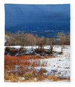 When The Sun Breaks Through The Storm Fleece Blanket
