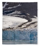 Where Glaciers Meet Fleece Blanket