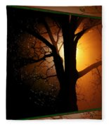 Where Have All The Flowers Gone-featured In Harmony And Happiness-naturephoto-visions Of The Night  Fleece Blanket