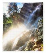 Where The Light Meets The Water Fleece Blanket
