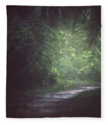Wherever The Path May Lead Fleece Blanket