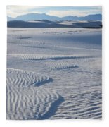Which Way Does The Wind Blow Fleece Blanket